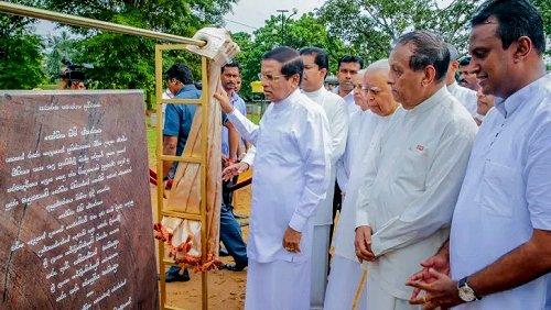 Sri Lankan President reiterates his commitment to eliminate fraud & corruption