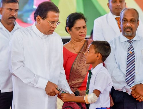 President calls on the nation to take actions to protect children