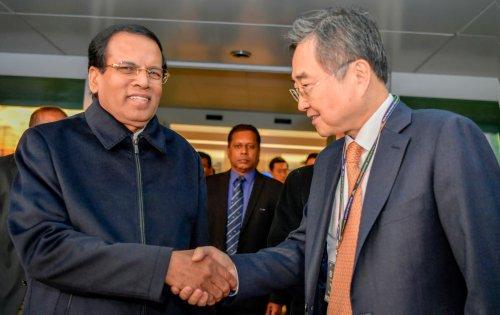 Sri Lankan President arrives in Seoul for state visit