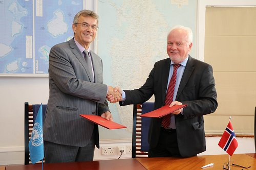 Norway extends Rs. 150 million support for resettlement in Sri Lanka's newly released areas of North