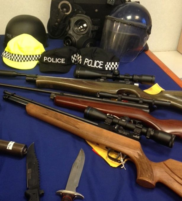 Police recover cache of weapons in Jaffna