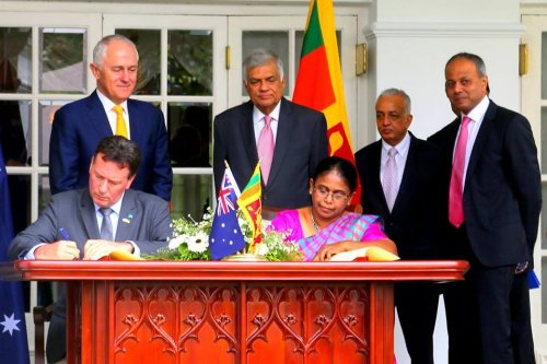 Australian Prime Minister's visit lays foundation for closer ties with Sri Lanka
