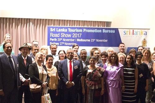 Sri Lanka roadshow takes Perth by storm