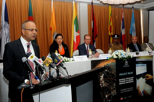 Sri Lanka preparing a mechanism for border protection and prevention of human smuggling