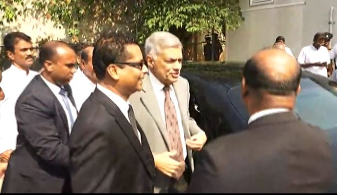PM Wickremesinghe testifies before Presidential Commission into alleged Bond Scam