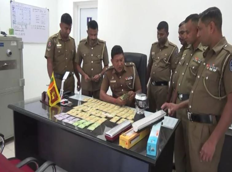 Suspects in Balangoda robbery under arrest