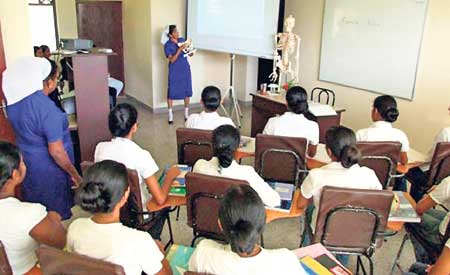 Infrastructure facilities at the Nurses Training Schools to be improved.