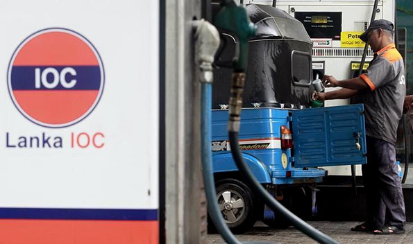 Lanka IOC also increases fuel prices