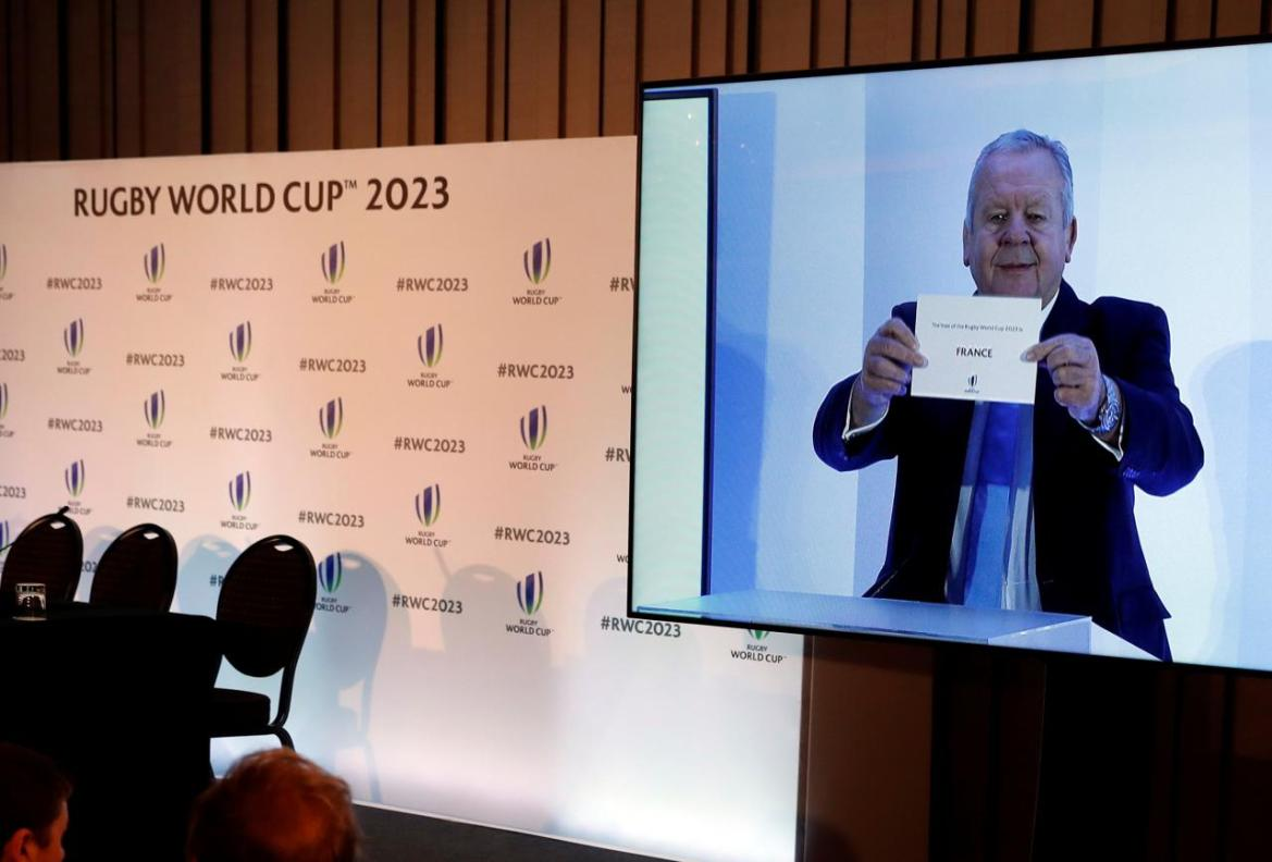 France beat South Africa and Ireland to host 2023 Rugby World Cup