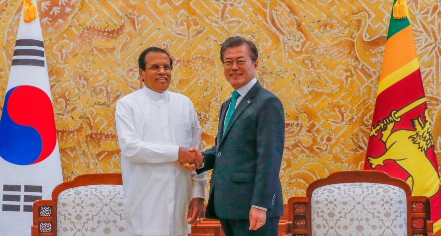 Sri Lankan and South Korean leaders asked for Peace dialogue