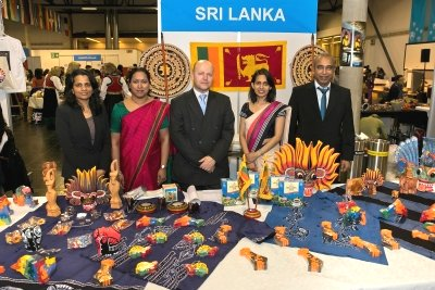 Sri Lanka participates in UN Christmas Charity Bazaar in Vienna