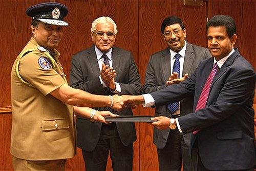 Sri Lanka Police and Central Bank sign MoU to cooperate on financial Crimes investigations