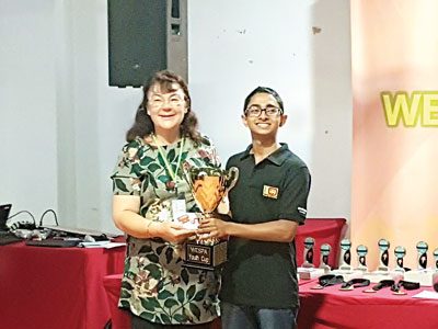 Royalist Aabid Ismail becomes 'World Youth Scrabble Champion'
