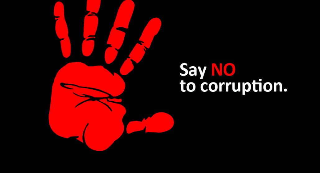 Today is World Anti Corruption Day