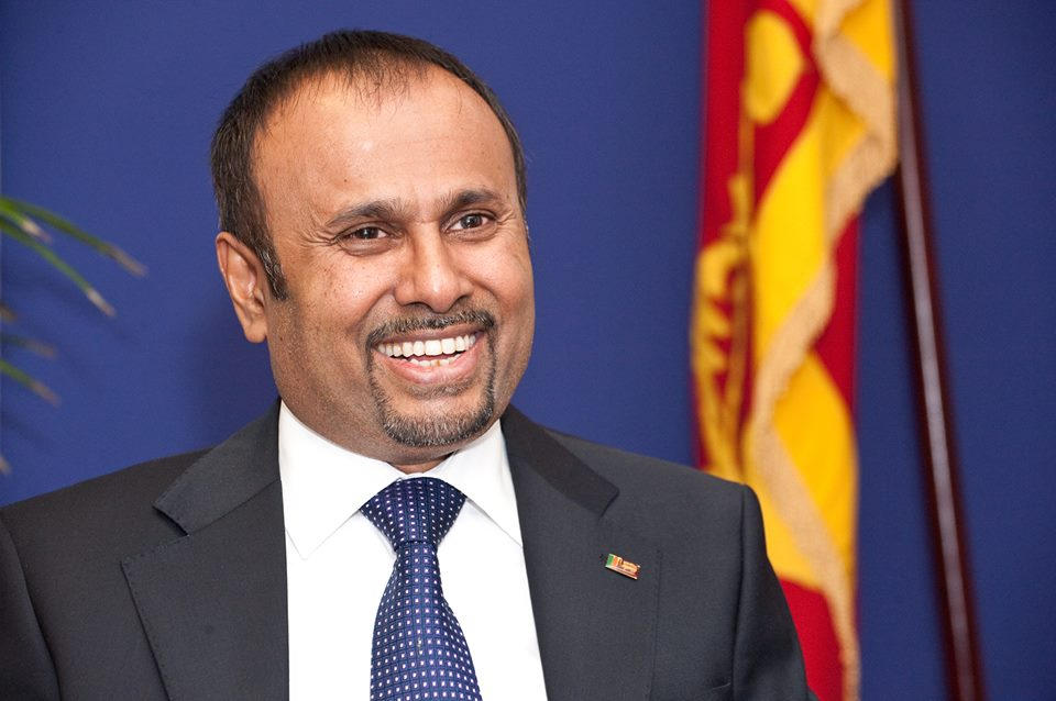 Sri Lanka's fugitive ex-diplomat Udayanga Weeratunga arrested at Dubai Airport