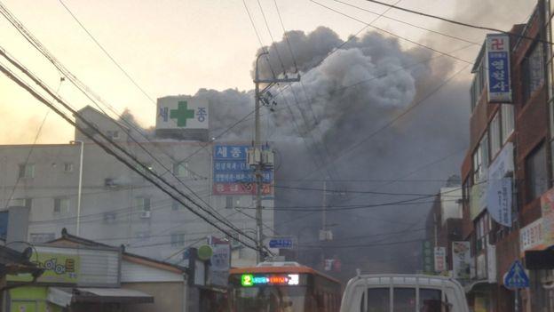 Hospital fire kills dozens in Miryang, South Korea