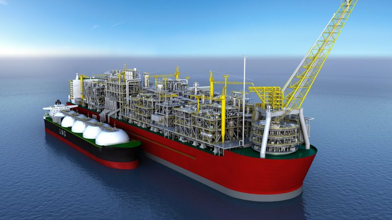 A 'free of charge' floating LNG terminal from South Korea?