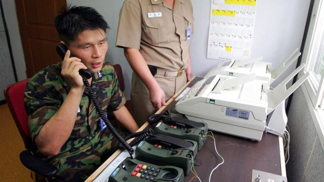 North Korea to reopen hotline to South to discuss Olympics