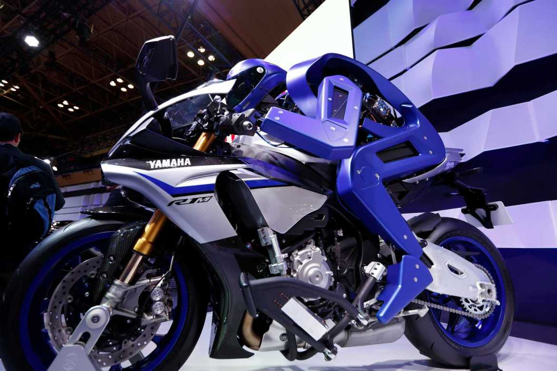 Yamaha unveils autonomous and robot-driven motorcycles