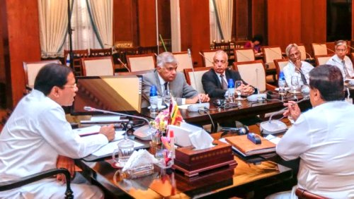 Sri Lankan government to finalize a new economic program by next week