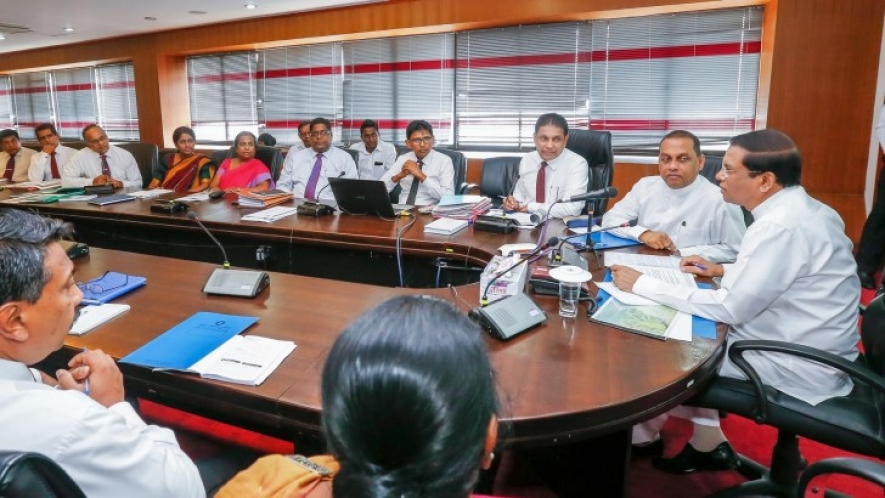 President stresses improving efficiency of Mahaweli projects to benefit farmer community