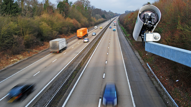 New camera system in operation from today to check speeding on expressways