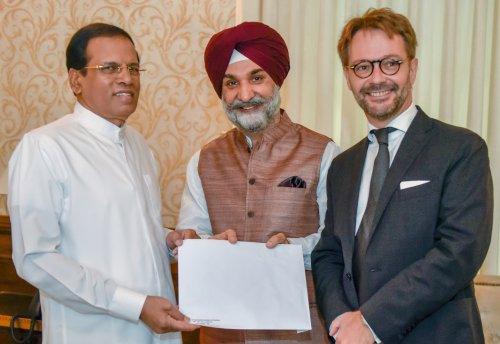 Sri Lankan President invited for the International Solar Summit in New Delhi