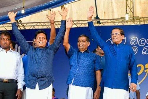 Sri Lankan President pledges to take country forward through a clean political movement
