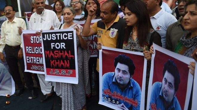 Mashal Khan case: Death sentence for Pakistan 'blasphemy' murder