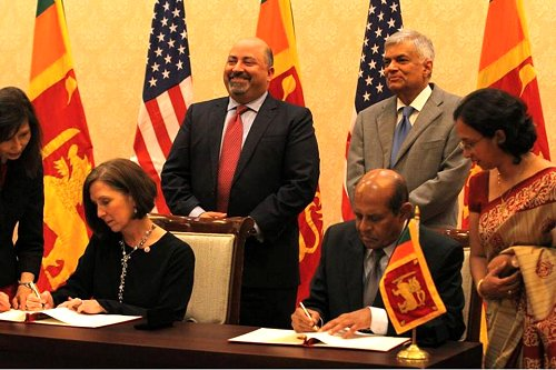 U.S. Peace Corps return to Sri Lanka