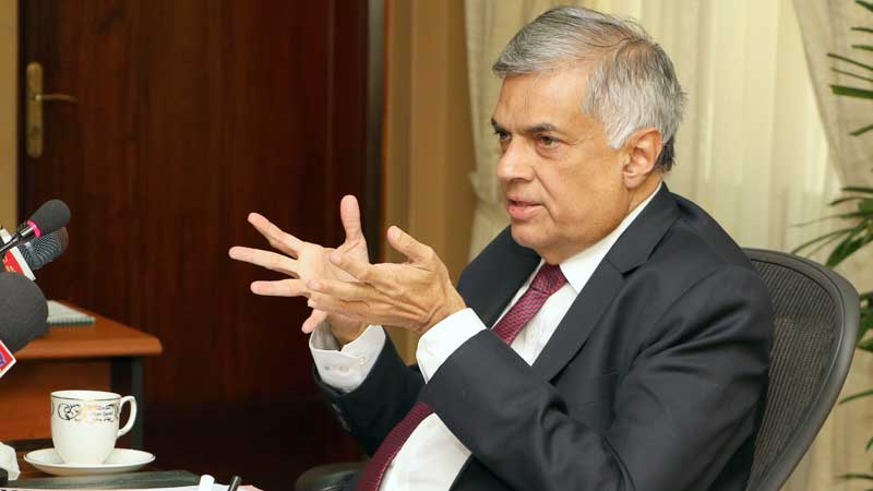 Sri Lanka PM urges people to act wisely and not to become victims of communalism