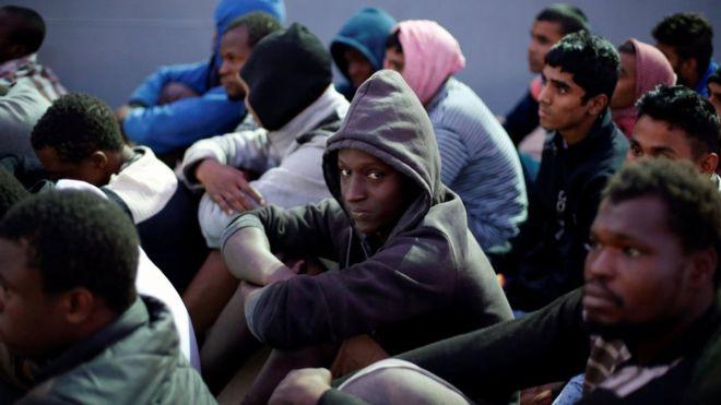 Libya migrants: Smuggling network arrest warrants issued