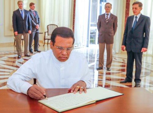 Sri Lanka President expresses condolences to Russian mall fire victims