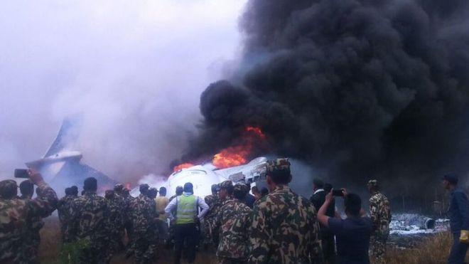 Nepal plane crash survivors describe chaos