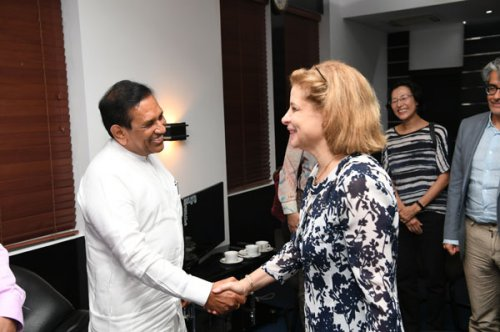 Sri Lanka receives financial aid from many agencies to improve health sector