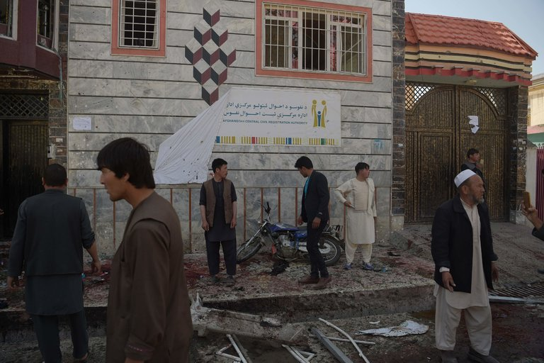 Suicide Bomber Kills at Least 57 Afghans in Kabul