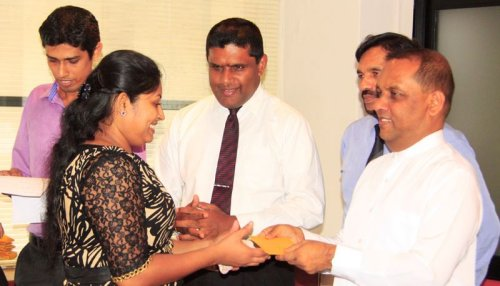 Salary arrears and bonuses paid for employees of the Ceylon Fisheries Corporation for the first time