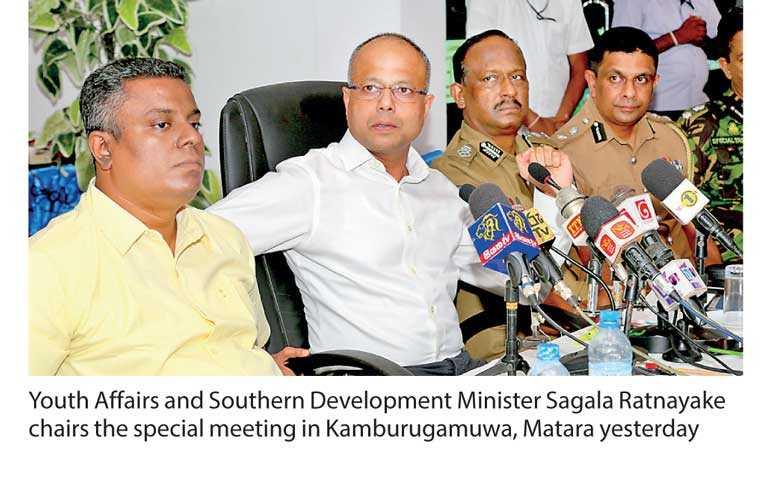 Sagala gets tough on southern tourism trade