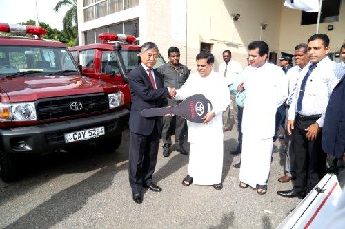 Japan donates Rs. 300 mn worth equipment to Sri Lanka's Colombo international airport