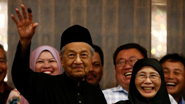 Malaysia's Mahathir hopes to get back lost 1MDB funds