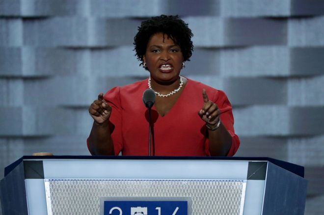 Stacey Abrams is first black female nominee for governor