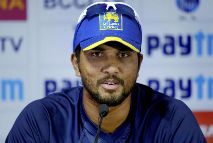 Sri Lanka captain Chandimal suspended for one Test after being found guilty of changing the condition of the ball