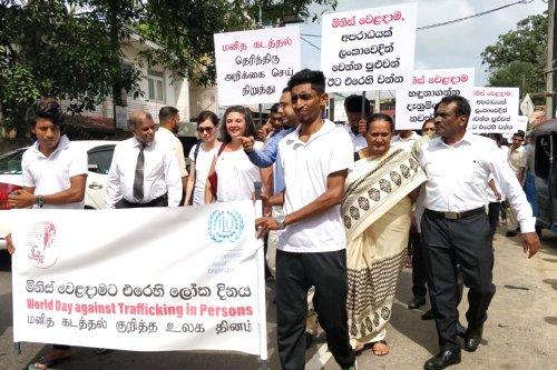 Sri Lanka pledges to take every measure to prevent human trafficking