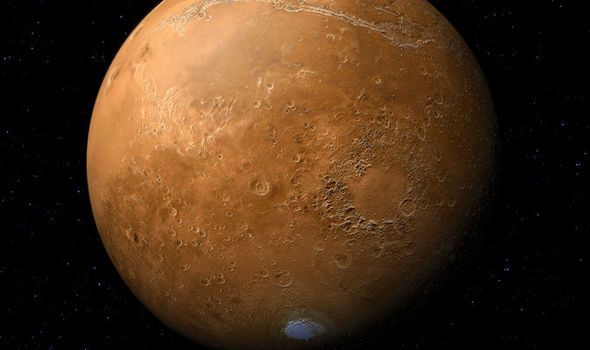 Mars closest to earth in 15 years today