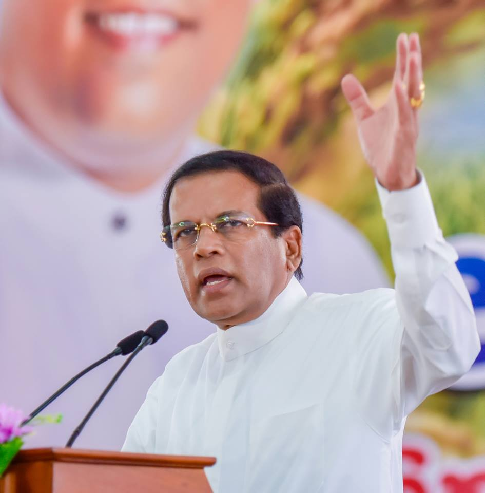 Sri Lanka President says parliament should set the first example of efficiency