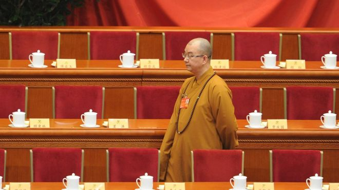 High-ranking Chinese monk accused of sexually harassing nuns