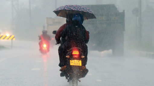Showers & winds to continue as south-west monsoon conditions establish