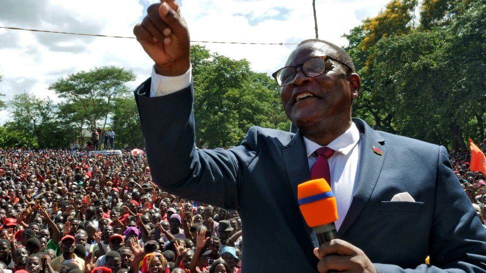 Malawi opposition leader Lazarus Chakwera wins historic poll rerun