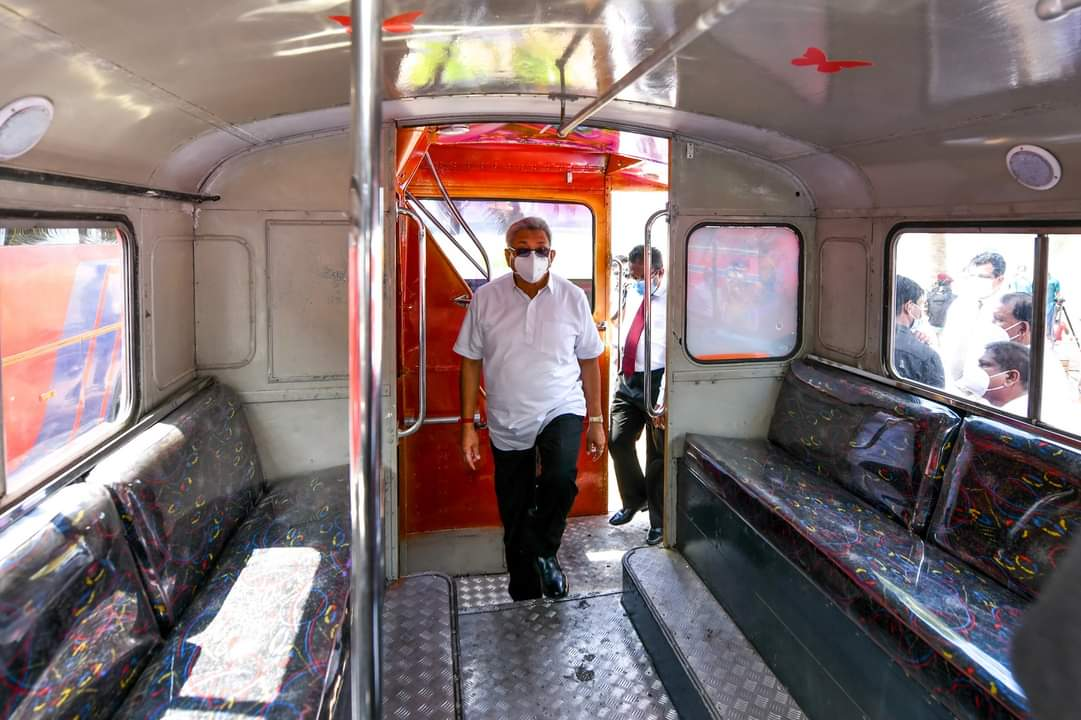 273 renovated buses added to the SLTB bus fleet