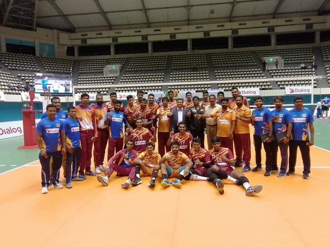 Sri Lanka beat Uzbekistan to quality for Asian Volleyball Championship